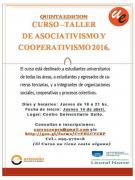 curso cooperativismo afiche