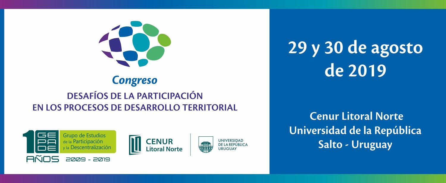 Congreso - Desafíos de la Participación en los Procesos de Desarrollo Territorial