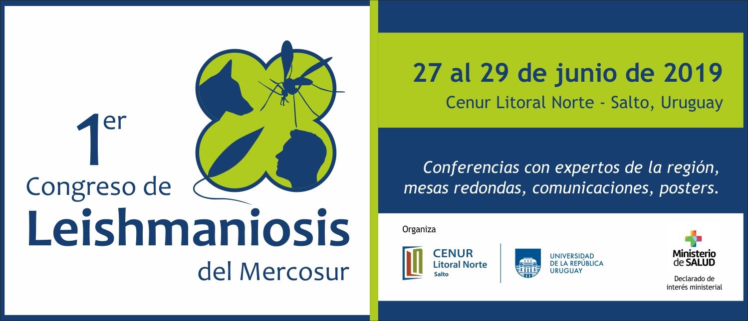1er congreso de Leishmaniosis del Mercosur